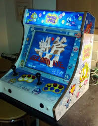 Tabletop Arcade Cabinet Bubble Bobble Bartop Arcade Machine 13 Steps With Pictures