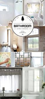 bathroom window privacy ideas light and privacy ideas for bathroom window treatments home