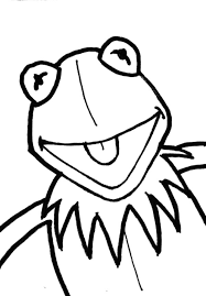 kermit frog coloring pages kids coloring sky