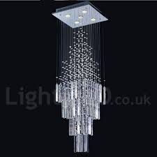 Indoor Chandeliers 5 Lights Modern Led K9 Ceiling Pendant Light Indoor