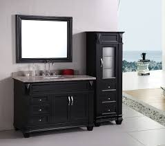 Bathroom Vanities With Matching Linen Cabinets Fancy Ideas Bathroom Vanity Cabinet Sets Coolest And With
