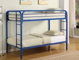 White Metal Bunk Bed Metal Bunk Bed Available In Black White Blue