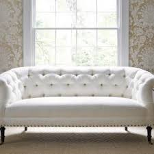 White Tufted Loveseat Furniture Purple Tufted Sofas With Modern Rug Decor