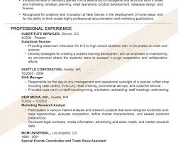 Resume Writing Learning Objectives by Examples Of Resume Titles