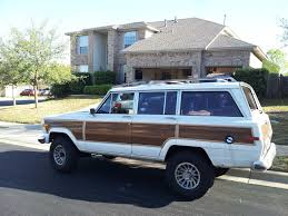 lowered jeep wagoneer grand wagoneer