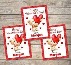 kids valentines day cards kids cards personalized cards