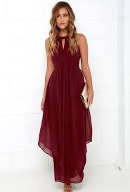burgundy dress for wedding o neil dress color dress