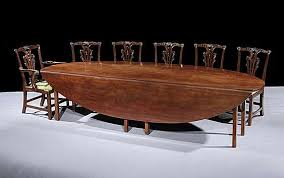 Mahogany Drop Leaf Table A George Iii Mahogany Drop Leaf Table Of Huge Proportion English