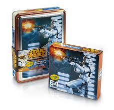 amazon com crayola star wars storm trooper collectible tin toys