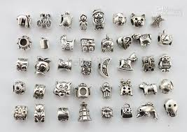 metal beads bracelet images 2018 assorted antiqued silver euro beads for charm bracelet 22787 jpg