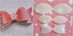 hair bow templates plastic hair bow templates kit make your own glitter fabric bows 5
