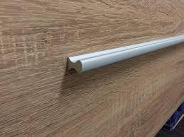 vienna 1500mm white oak timber wood grain wall hung vanity