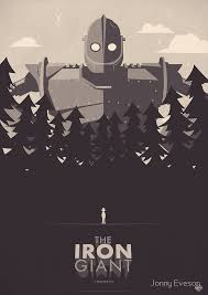 the iron giant the iron giant posters by jonny eveson redbubble