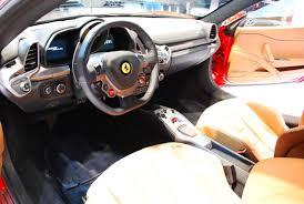 ferrari yellow interior ferrari 458 italia cool car zone