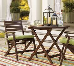 metal patio furniture set folding outdoor patio table and chair sets popsugar home