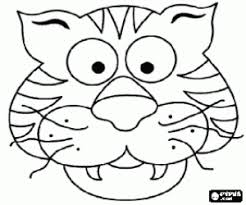 animal masks coloring pages printable games 2