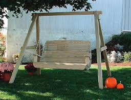 Most Comfortable Porch Swing The Most Awesome Wooden Porch Swing With Stand Regarding