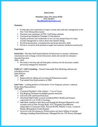 Sample Resume For Insurance Agent Sample Resume For Call Center Agent Without Experience Pdf Augustais