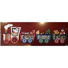 lighted merry christmas yard sign 118 h x 36 h lighted merry christmas train with santa driver pulling
