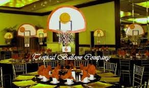 basketball centerpieces party event decorating balloon decorating ceing decor feather