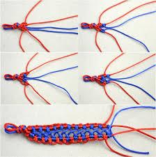 woven bracelet tutorials images Handmade fashion jewelry bicolor woven hemp bracelet patterns for jpg
