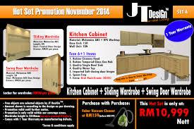 Kitchen Cabinet Promotion November  Hot Set Package JT DesiGn - Kitchen cabinet packages