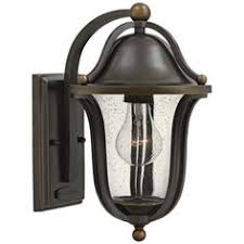 matching outdoor wall and post lights park view bronze 10 1 2 high led outdoor wall light style v1685