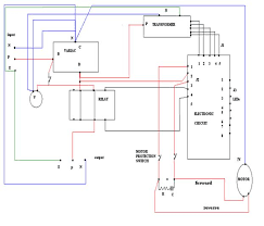 connection diagtram and working of servo voltage stabilizer eee
