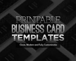 new printable business card templates design graphic design