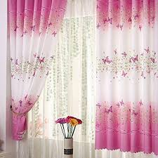 Amazon Bedroom Curtains Pink Curtains For Bedroom Amazon Co Uk
