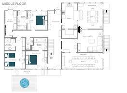 Cote D Azur Floor Plan by Catered Ski Chalet Gstaad Chalet Charlotte Leo Trippi