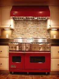 Tumbled Slate Backsplash by Kitchen Astounding Red Kitchen Backsplash Tiles Red Backsplash