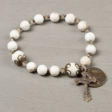 bracelet rosary fatima 100th anniversary rosary bracelet the catholic company