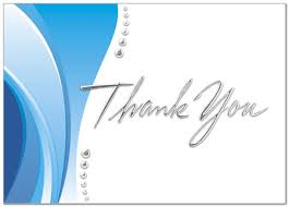 business thank you cards thank you wave card business thank you cards posty cards inc