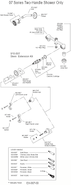 Bathroom Shower Parts Price Pfister Shower Valve Parts Diagram See Sseo Info