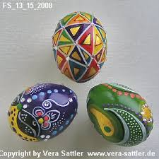 painted eggshells egg painting freestyle wetcanvas eggs decorated