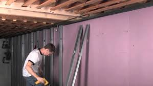 insulating interior basement walls exterior bat architecture