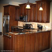 cherry mahogany kitchen cabinets kitchen bathroom cabinets valrico project gallery