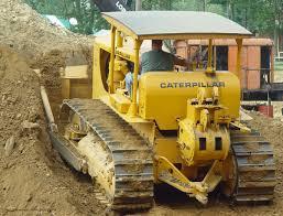 old cat d8 bulldozers pinterest