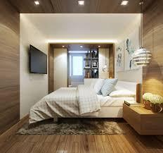 wohnideen small bedrooms doppelbett und begehbarer kleiderschrank im schlafzimmer