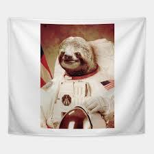 Sloth Meme Shirt - astronaut sloth astronaut sloth meme memes tapestry teepublic
