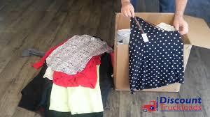Bulk Wholesale Clothing Distributors Unboxing Wholesale Clothing Discounttruckloads Com Ps101 Youtube