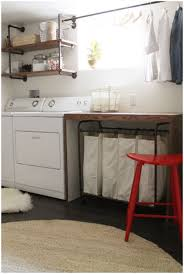 Laundry Room Storage Ideas by Small Laundry Room Shelving Ideas Homespun Laundry Look Small