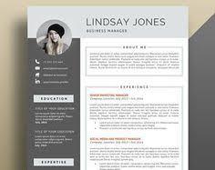 modern resume template the amelia resume writing pinterest