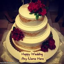 Wedding Wishes Cake 11 Best Wedding Cakes With Name Images On Pinterest Families