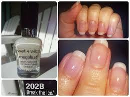 wet u0027n u0027 wild megalast nail color break the ice reviews photo