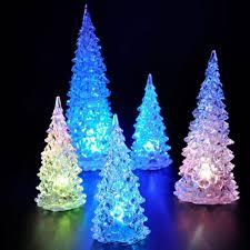 wholesale decorations mini acrylic tree led