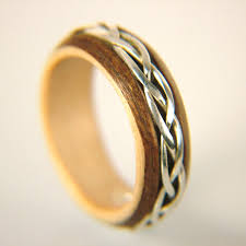 silver wood rings images No beginning or end teak and silver wooden ring simply wood rings jpg