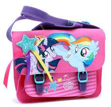 my pony purse twilight sparkle rainbow dash school bag my pony merch