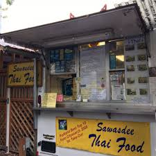 Portland Food Truck Map by Sawasdee Thai Food Portland Food Trucks Roaming Hunger